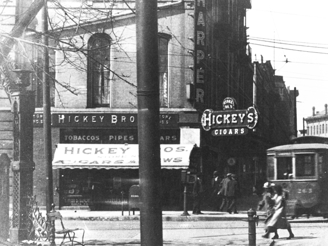 Hickey Brothers Cigar Store Rock Island Il